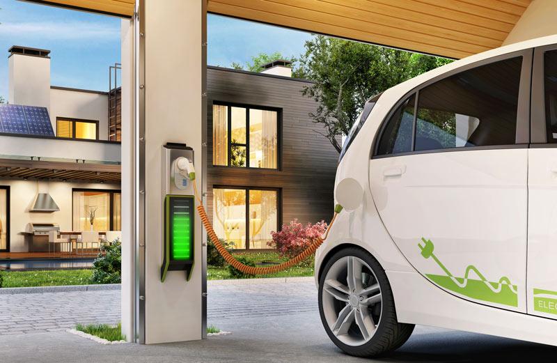 Ladevorgang E-Fahrzeug - Solarprofi Schmidt GmbH